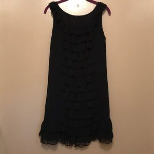 Mossimo ruffle dress xl